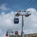 El presidente dominicano inaugura el Teleférico de Santo Domingo
