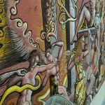 """Mural """"Ágora"""" en el auditorio Mercedes Mendoza"""