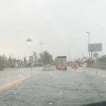 Tenemos en este momento la primera tormenta intensa y extensa en Durango capital y estado