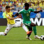 Colombia y Senegal empatan sin goles al descanso