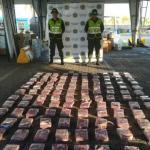 Incautan en Colombia 122 kilos de cocaína en pañales que iban para Guatemala