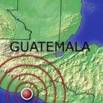 Un seísmo de magnitud 5,7 sacude Guatemala sin causar daños