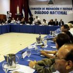 Diálogo en Nicaragua se reanudará el lunes tras conformarse mesas de trabajo