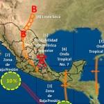 Pronostican lluvias para esta semana en territorio duranguense