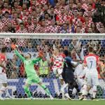 Croacia empata el partido con un gran gol
