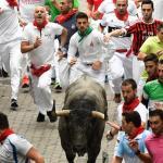 La ciudad española de Pamplona, lista para celebrar los Sanfermines