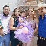 Doble festejo para las hermanitas Jessica Lizet y a Sofía Michelle Hernández Cabrales