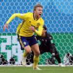 """Forsberg: """"Tuve suerte en el gol, pero la suerte a veces la mereces"""""""