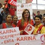 FMLN salvadoreño nombra a diputada Karina Sosa como candidata Vicepresidencia