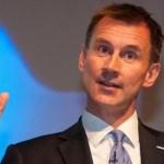 May nombra ministro de Exteriores a Jeremy Hunt, hasta ahora en Sanidad