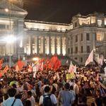 Miles de peruanos marchan para rechazar la corrupción en el Poder Judicial