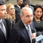 Presidente dominicano anuncia que Gobierno enfrentará violencia en las calles