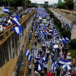 """Comienza en Managua marcha por libertad de """"reos políticos"""" en la crisis"""