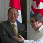 Vicepresidentes de Cuba y Corea del Norte evalúan relaciones bilaterales