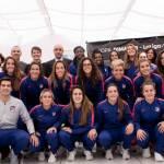 Atlético de Madrid Femenino se prepara para jugar con el Huila en Colombia