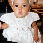 Bautizaron a la pequeña Emilia Alexa Quiñones Rojo