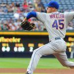 """3-0. Wheeler lanza sólido y los Mets ganan por """"blanqueada"""""""