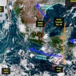 Se forma el huracán Lane lejos de las costas del Pacífico mexicano