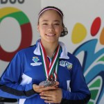 La duranguense Angélica Salmerón consiguió el segundo puesto en el All Around 2018