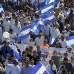 Comienza marcha en apoyo al presidente Daniel Ortega en Nicaragua