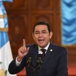 Constitucional de Guatemala ordena a presidente Morales garantizar protestas