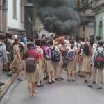 Gobierno hondureño condena asesinato de jóvenes que participaron en protesta