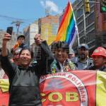 El oficialismo arropa a Morales frente a las marchas para que deje el poder