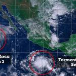 Rosa, ahora como tormenta tropical, continúa aproximándose a Baja California