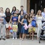 Inicia vida cristiana el pequeño Rodolfo Centeno Osuna