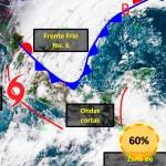 Nos espera un miércoles nublado, lluvioso y  fresco en Durango