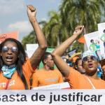 Miles de dominicanas reclaman fin de la violencia machista