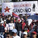 Nicaragüenses protestan en Costa Rica contra violaciones a DDHH en su país