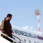 Arriba Nicolás Maduro a México para asistir a comida con López Obrador