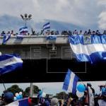 Oposición llama a nuevo paro nacional para exigir salida de Daniel Ortega