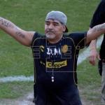 Ratifican suspensión a Maradona para el partido de vuelta de la final