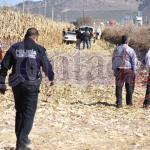Encuentran cuerpo humano entre los maizales en estado de descomposición cerca de Montemorelos