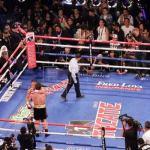 """Canelo"" Álvarez vence por nocáut a Fielding y logra tercer título mundial"