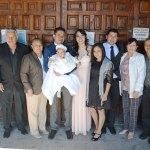 Arath Sebastián Esquivel Ríos fue bendecido por las aguas benditas del Jordán