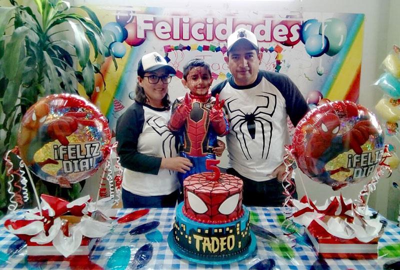 David Tadeo Lozano Ramirez Celebro Sus Cinco Anitos Con Una Super