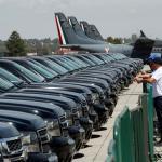 Gobierno mexicano gana 3 millones de dólares al subastar vehículos oficiales