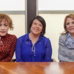 Se reúne Elvira Barrantes de Aispuro con la Presidenta de DIF Nacional
