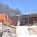 Está ardiendo centro de rehabilitación de la calle Blas Corral; ya llegaron los bomberos