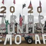"""Partidario de Trump recorre EEUU para pedir el muro al ritmo de """"Macarena"""""""