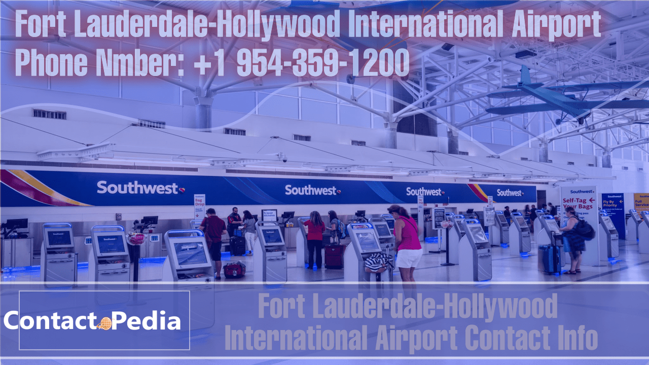 Fort-Lauderdale-Hollywood-International-Airport-Contact