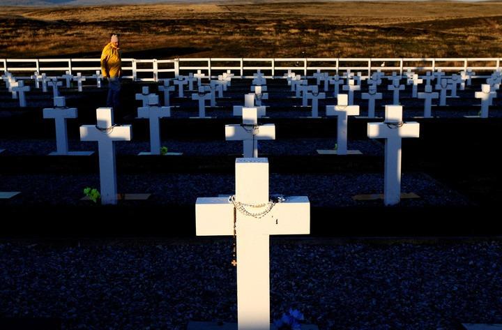 Sentido homenaje en Malvinas a los caídos en combate