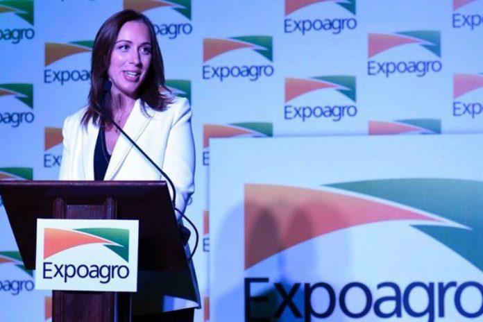 Expoagro: Vidal prometió avanzar con las emergencia si persiste la sequía