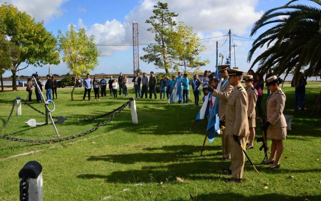Gral. Lavalle  homenajeó a los Veteranos de Malvinas junto a  personal de Prefectura Naval Argentina de General Lavalle