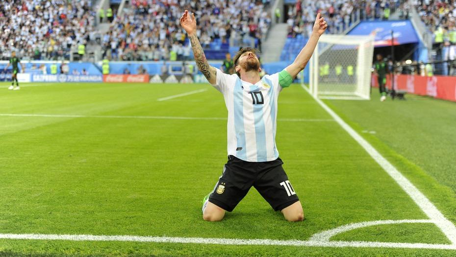 MUNDIAL 2018 / ARGENTINA 2 – NIGERIA 1 La argentinidad al palo del 10