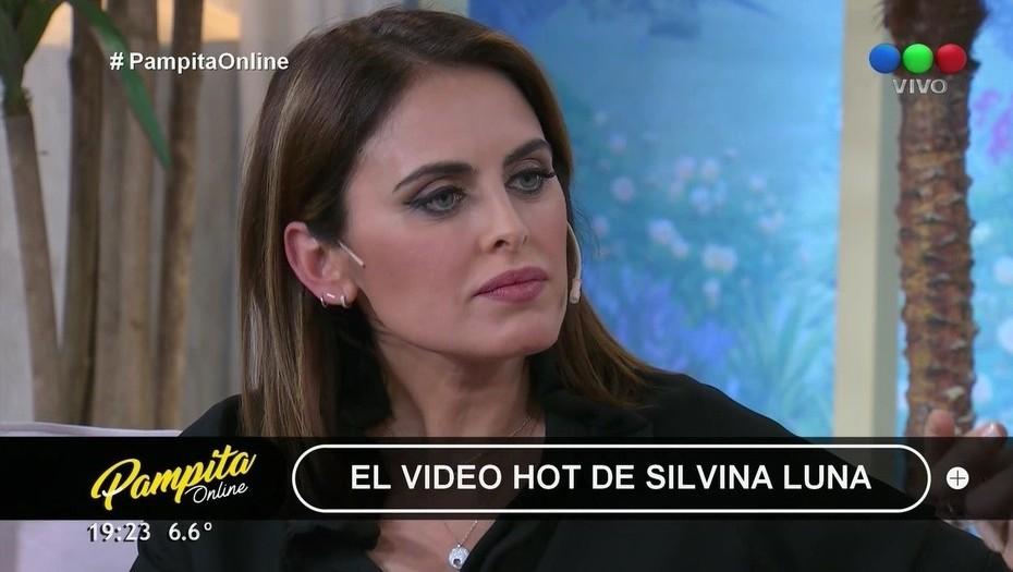 ¿Era necesario?  Silvina Luna vivió un incómodo momento al aire cuando le preguntaron por su video hot