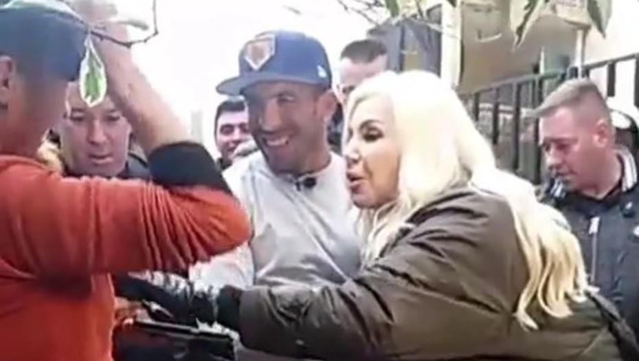 Ciudadano ilustre  Susana Giménez recorrió Fuerte Apache con Carlos Tevez